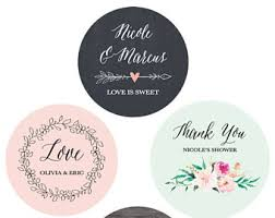 labels for wedding favors wedding favor labels etsy