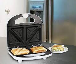 Pigeon Sandwich maker white 750 Sandwich Toaster Price in India