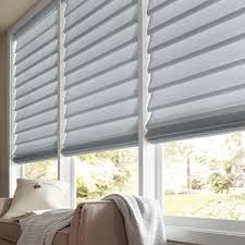 Gray Blinds Premium Solid Light Filtering Romans Selectblinds Com