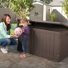 Lifetime 60012 Extra Large Deck Box Instructions by Amazon Com Lifetime 60089 Deck Storage Box 116 Gallon Garden