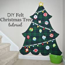felt christmas diy felt christmas tree project nursery