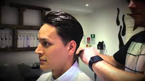 teddy boy hairstyle anchors teddy boy slick pomade youtube