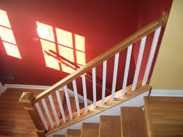 home depot stair railings interior painting interior stairs design wood stair baers painted treads