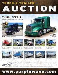 used kenworth semi trucks for sale sold september 21 truck and trailer auction purplewave inc