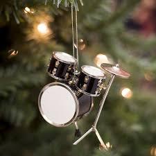 amazon com black drum set hanging ornament music musical