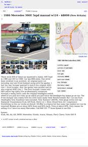 for 8 000 would you let this 1986 mercedes 300e stick around