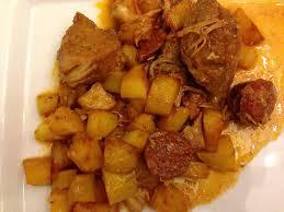 cuisiner un sauté de porc sauté de porc portugaise sevencuisine