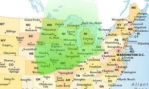 Gardening Zones Usa Map - climate zones