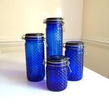 cobalt blue kitchen canisters 28 images tupperware cobalt blue