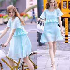 aliexpress com buy fashion chiffon maternity dress comfortable