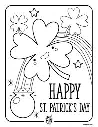 nod free printable coloring pages st patrick39s day honest to nod