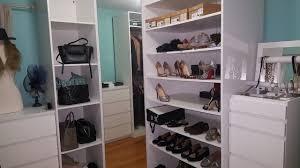inside my inexpensive ikea closet youtube