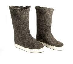 Felt Boots Organic Wool Boots Wool Valenki Boots Winter