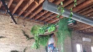 Streamer Chandelier Beautiful Floral Greenery Chandelier Youtube