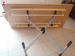 build adjustable table legs diy adjustable table legs jameliescorner com