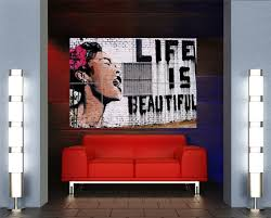 amazon com banksy life is beautiful giant xxl poster art print
