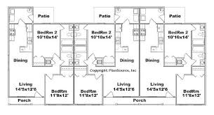 in apartment floor plans apartment plan j891 6 6 units