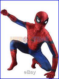 Captain America Halloween Costume Kids Marvel Civil War Spidey Spiderman Costume Halloween Cosplay Suit