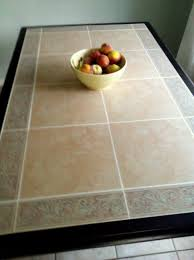 exquisite ideas tile top dining table fashionable tile top dining