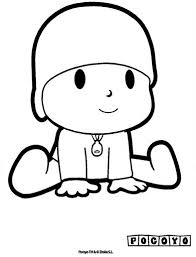 pocoyo coloring pages crafts worksheets preschool