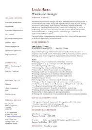Warehouse Supervisor Sample Resume by Sample Resume For Picker Packer Sample Resume For Warehouse Picker