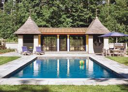 pool houses custom home magazine design vacation homes