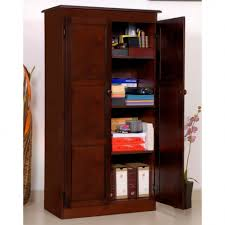 wood storage cabinets with doors and shelves interior rustic wooden storage cabinets with doors combined cream