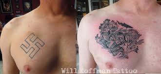 will koffman swastika cover up