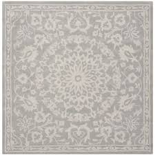 6 Square Area Rug Safavieh Gray Silver 6 Ft X 9 Ft Area Rug Bel446a 6 The