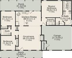 split bedroom house plans split bedrooms ranch house plans with porches adhome