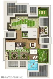 Centralized Floor Plan by Ridhiraj Builders