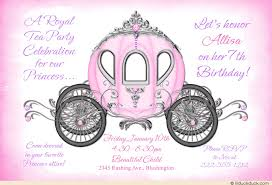 princess invitation wording ideas fairytale party verses