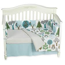 dwell studio owls sky 4 piece crib set and accessories buybuy baby