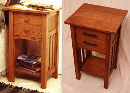 mission style side table side tables mission bedside table mission style nightstands