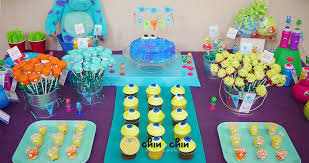 kara u0027s party ideas monsters inc themed birthday party ideas