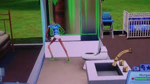 sims 3 glitch toddler taking a bath youtube