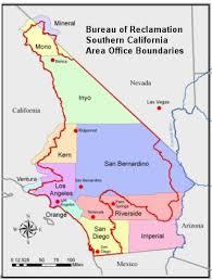 california map desert region southern california area office lower colorado region bureau