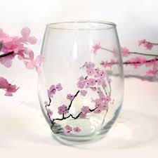 365 designs diy cherry blossom branches u0026 glass tumblers
