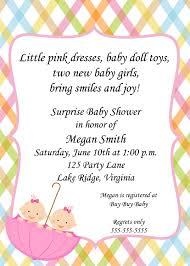 baby shower twins invitation templates u2013 diabetesmang info
