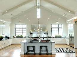 overhead kitchen lighting ideas cathedral ceiling lighting cathedral ceiling lighting kitchen
