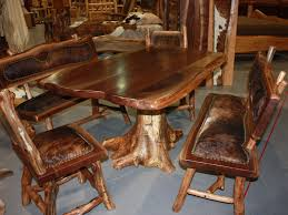 Solid Oak Dining Table Set The Of Real Wood Furniture And Their Eternal Elegance
