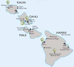 Hawaii On World Map Vax Vacationaccess Destination Detail