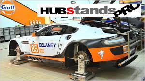 porsche racing logo bbx racing hubstands hubstands pro steel wheel set up stands 0 00