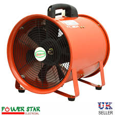 Industrial Portable Ventilation Fan Air Mover Metal Axial Blower 110v