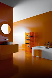 orange bathroom ideas orange bathroom ideas home design inspirations