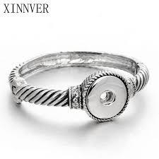 diy gold bracelet images Innocententre new gold bracelets for women fit diy 18mm snap jewelry e jpg