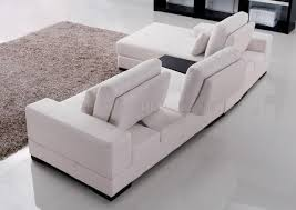 Convertible Sectional Sofa Bed Fabric Modern Sectional Sofa W Moving Back U0026 Tea Table