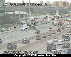 Houston Transtar Map Southbound Us 59 Clogged By Concrete Spill Houston Chronicle