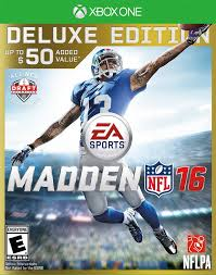 amazon com madden nfl 16 deluxe edition xbox one madden nfl
