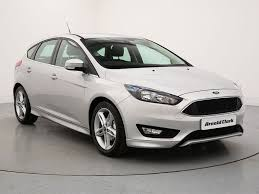 new ford cars nearly new 16 ford focus 1 5 tdci 120 titanium 5dr arnold clark